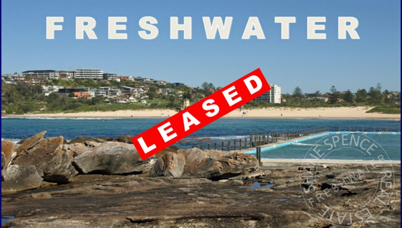 Freshwater Rent leased beach