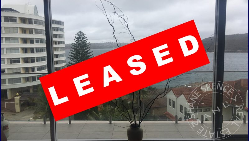 Manly rent lease waterfront unit