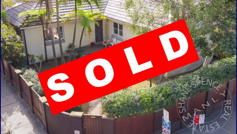 Manly House Sold