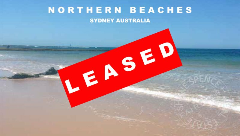 Sydney NSW Manly Fairlight Leased