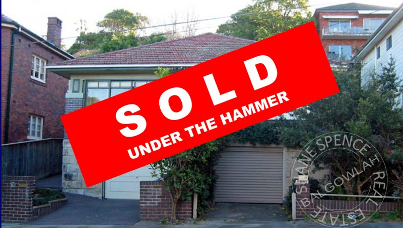 Balgowlah Sold Under The Hammer