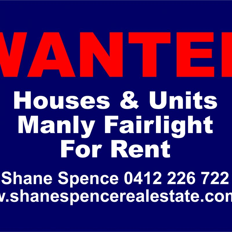 Manly Fairlight lease rent 2094 2095 2096 2093